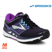 【BROOKS】女款避震型慢跑鞋 Transcend 5 - 黑紫(631B023)【全方位運動戶外館】