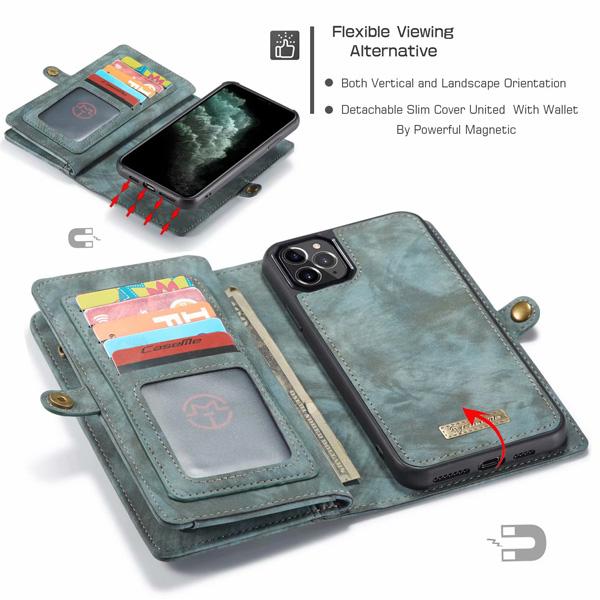 蘋果 iPhone 11 11 Pro 11 Pro Max CM錢包相框皮套 保護套 手機套 皮套 磁力吸附 錢包皮套 CaseMe
