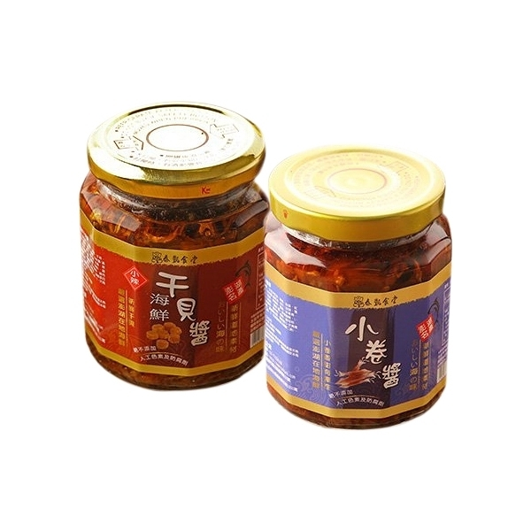 泰凱食堂 海鮮干貝醬/小卷醬(250g) 款式可選【小三美日】※禁空運