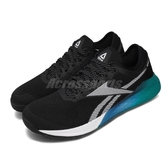 Reebok 訓練鞋 Nano 9 黑 藍 男鞋 運動鞋 CrossFit專用 【PUMP306】 FU7564