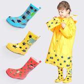 兒童雨鞋防滑橡膠中筒雨靴男童女童水鞋【步行者戶外生活館】