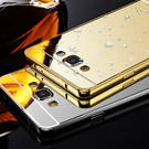 【SZ14】YY note5手機殼 電鍍框鏡面背板 note 4手機殼 note 3手機殼 note2手機殼 金屬殼