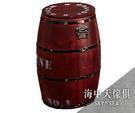 {{ 海中天休閒傢俱廣場 }} G-25 摩登時尚 餐椅系列 935-13 木桶收納椅凳-紅色