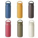 日本KINTO 提式輕巧保溫瓶 500ml共6色深灰