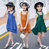 童裝女童夏季2018新款韓版夏裝仙女洋裝 JA1255『伊人雅舍』