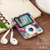 學生版超薄有屏mp3小型便攜式MP4看小說音樂播放器迷你蘋果隨 京都3C