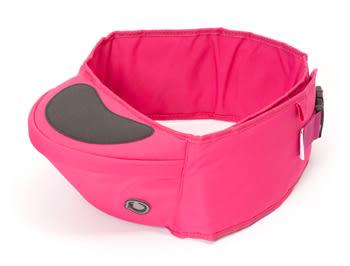 全新mothercar HippyChick Hipseat 坐式抱嬰腰帶-黑、灰、桃紅色