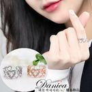 戒指 現貨 韓國 氣質 甜美 微鑲.簡約...