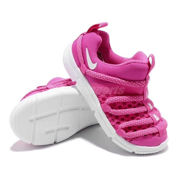 Nike 毛毛蟲鞋 Novice BR TD 粉紅 白 童鞋 小童鞋 運動鞋【ACS】 BQ6721-600