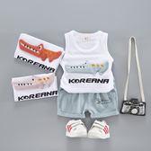 嬰兒短袖短褲套裝 兩件套夏裝女童夏款嬰幼兒兒童寶寶小童T恤  喜迎中秋 優惠兩天