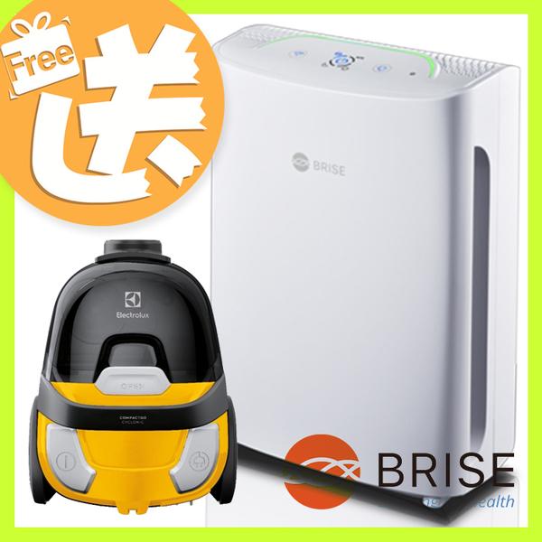 限量超值組【BRISE】(送臥式吸塵器)C200 人工智慧醫療級抗過敏空氣清淨機 (再送濾網一年吃到飽)
