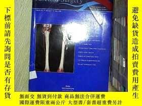 二手書博民逛書店Journal罕見of vascular surgery 血管外