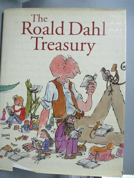 【書寶二手書T3/原文小說_ZGT】The Roald Dahl treasury_Roald Dahl