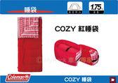 ∥MyRack∥ Coleman COZY CM-27267 紅睡袋睡袋C5 露宿袋 毛毯 露營睡袋