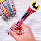 Disney迪士尼屁屁系列六色筆 原子筆 多色筆 油性筆 圓珠筆 米妮款 COCOS JP099