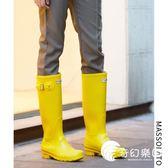 雨靴-雨鞋女高筒夏季時尚防水鞋女士膠鞋水靴防滑水鞋戶外套鞋成人雨靴-奇幻樂園