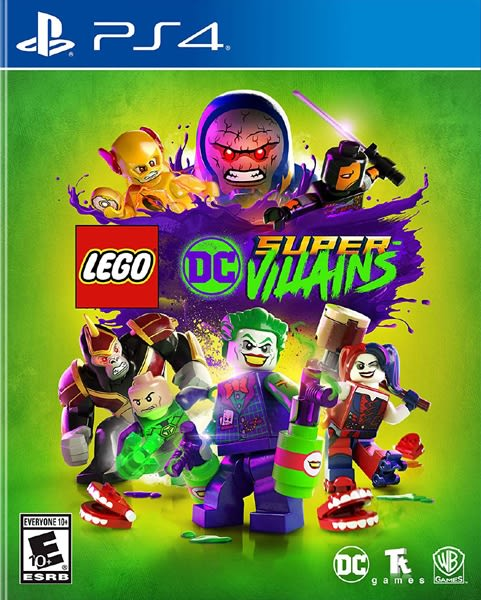 PS4 樂高 DC 超級反派(美版代購)