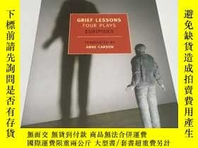 二手書博民逛書店Grief罕見Lessons: Four Plays by Eu