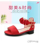 女童涼鞋 女童涼鞋2018新款夏季韓版中大童女孩小高跟公主鞋兒童涼鞋女學生 Cocoa