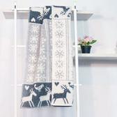 瑞典Klippan有機羊毛毯--北歐極光小精靈(灰)