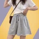 運動短褲女夏季2021年新款純棉五分寬鬆休閒高腰顯瘦秋季外穿褲子 【端午節特惠】