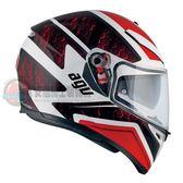 [中壢安信]義大利 AGV K-3 SV K3 SV K3SV PULSE 白黑紅 全罩 安全帽 送涼感頭套