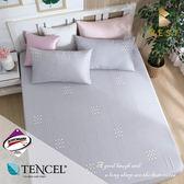 天絲床包三件組 雙人5x6.2尺 西芙  頂級天絲 3M吸濕排汗專利 床高35cm  BEST寢飾