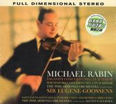 【停看聽音響唱片】【CD】MICHAEL RABIN:PAGANINI.WIENIAWSKI.SAINT-SAENS