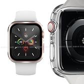 CITY BOSS for Apple watch一體成形式玻璃加保護殻44mm-透明