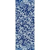 【日本製】【和布華】 日本製 注染拭手巾 藍色 和風松竹梅圖案(一組:3個) SD-4977-3 - 和布華
