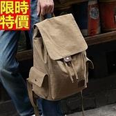 後背包-戶外旅行休閒復古男帆布包3色67g9【巴黎精品】