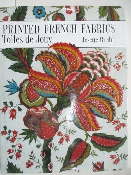 【書寶二手書T2/設計_FGL】Printed French Fabrics_Toiles de Jouy