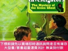 二手書博民逛書店The罕見Mystery Of The Green Ghost (alfred Hitchcock & The T