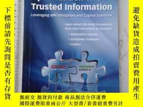 二手書博民逛書店Driving罕見Business Optimization with Trusted Information