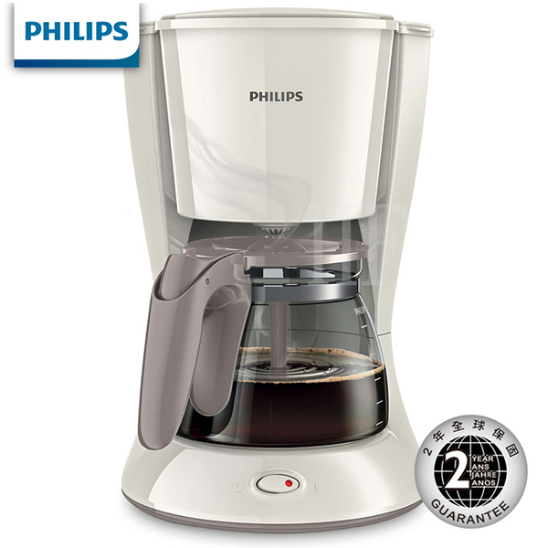 [本月主打]飛利浦Daily滴漏式咖啡機 HD7447 ★免運費