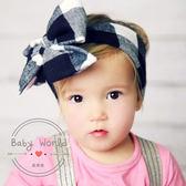 髮帶 寶寶 兒童 歐美 蝴蝶結 波浪紋 造型髮飾