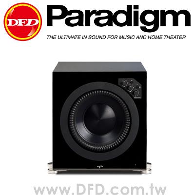 加拿大 Paradigm Prestige 1000SW 主動式超低音喇叭 櫻桃木色 黑色鋼烤 公司貨