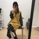 女裝春裝年新款胖mm泫雅風大碼香云紗連衣裙顯瘦兩件套裝洋氣 8號店