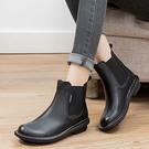 英倫風短靴 真皮手工女鞋 彈力休閒馬丁靴/2色-夢想家-標準碼-0910