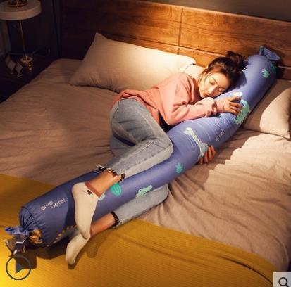 糖果夾腿抱枕長條枕可拆洗睡覺枕頭圓柱女孕婦抱抱枕專用床頭靠墊 滿天星