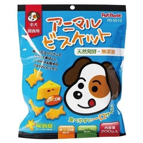 *KING WANG*PET BEST《動物造型餅乾 兩種口味可選》200g (起司+養樂多/牛奶+鈣)狗零食
