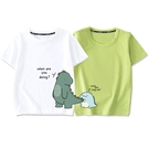 可愛恐龍短袖上衣親子裝(大人)