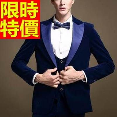西裝外套  男韓版 西服 自信時髦-硬朗金絲絨時尚風靡65b26【巴黎精品】