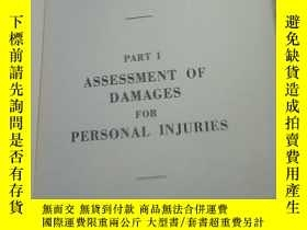 二手書博民逛書店PART罕見I ASSESSMENT OF DAMAGESY25