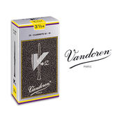 小叮噹的店- 全新 法國 Vandoren V12 豎笛竹片/黑管竹片 銀盒 10片裝 CL-V12