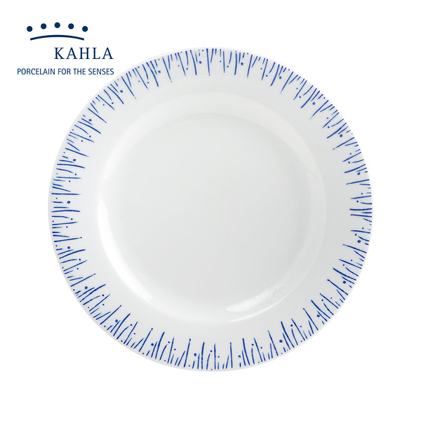德國Kahla藍調之美(點點印Stamping)-27.5cm盤