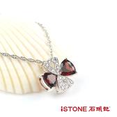925純銀石榴石項鍊-嬌豔璀燦 石頭記