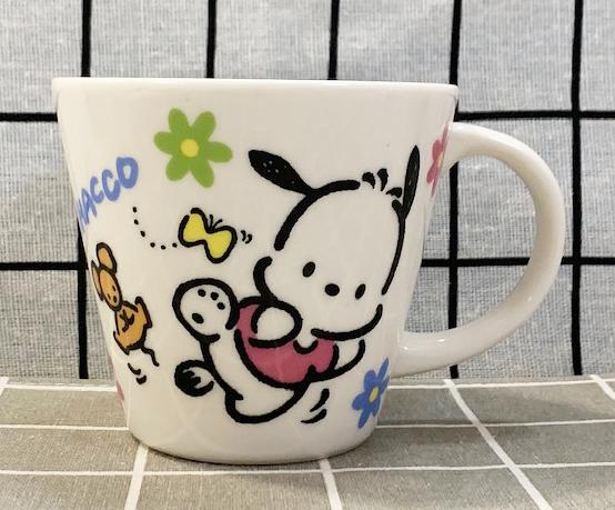 【震撼精品百貨】Pochacco_帕恰狗~三麗鷗帕恰狗陶瓷馬克杯-花#71889