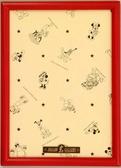【拼圖總動員 PUZZLE STORY】迪士尼200P專用框(紅) 日本進口/Tenyo/22.5*32cm/木框