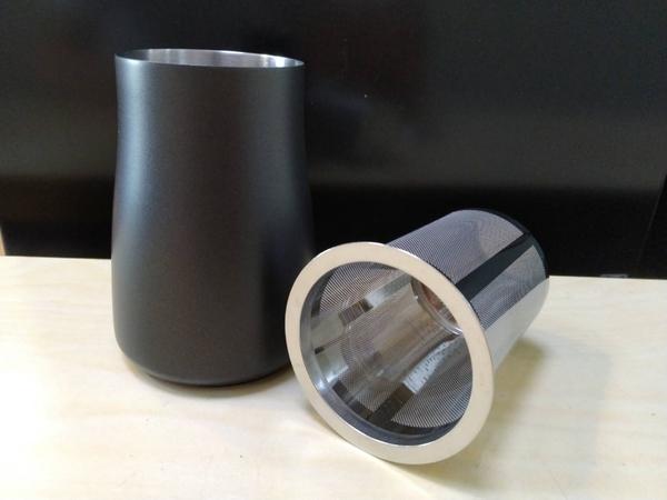 咖啡粉過篩器/篩粉器(黑)-【良鎂咖啡精品館】